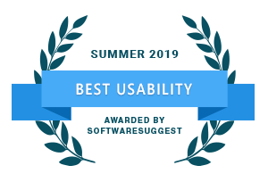 SoftwareSuggest - Best Usability Awards 2019