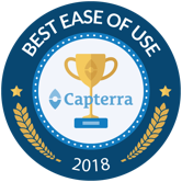Capterra - Best Ease of Use Awards 2018