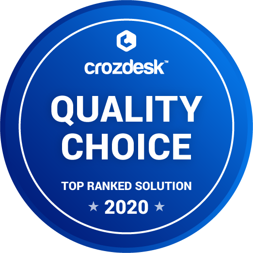 Taskworld - Crozdesk Quality Choice Badge Awards 2020