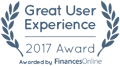 FinancesOnline - Great User Experience Awards 2017
